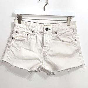 Free People Urban Outfitters white shorts 143B5